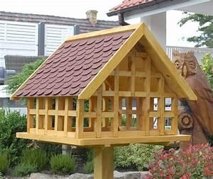 Vordeckbahn Für Bitumenschindeln : xxl fachwerk vogelhaus mit roten bitumenschindeln karl ~ Michelbontemps.com Haus und Dekorationen
