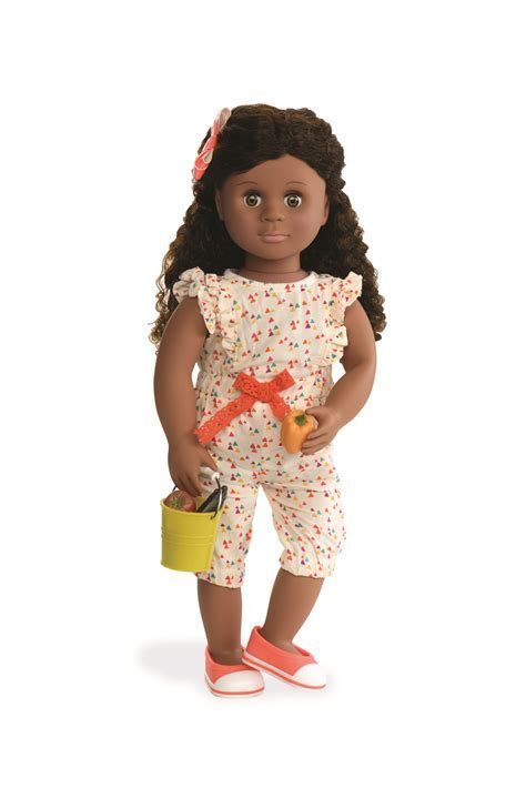 Nahla With Book Our Generation Deluxe Black Doll