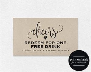 free drink tickets printable from bliss paper boutique With complimentary drink ticket template