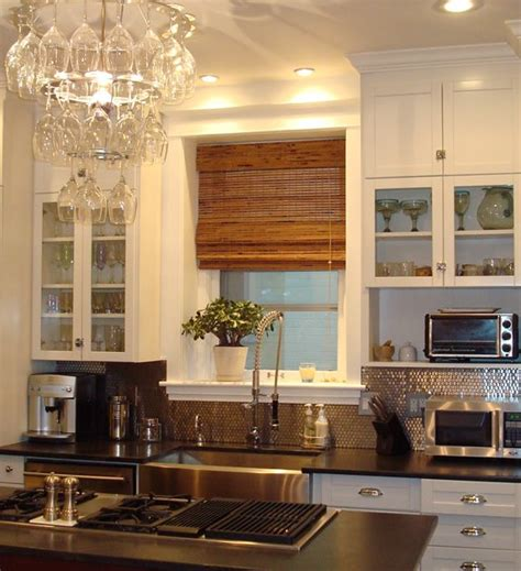 Kitchen Week A Stainless Steel Penny Backsplash For A