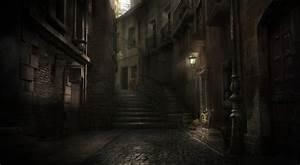 Dark, Alley, By, Artecnl