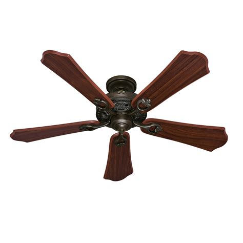 hunter ceiling fans with lights clearance shop hunter kingsbury 52 in roman bronze downrod or flush
