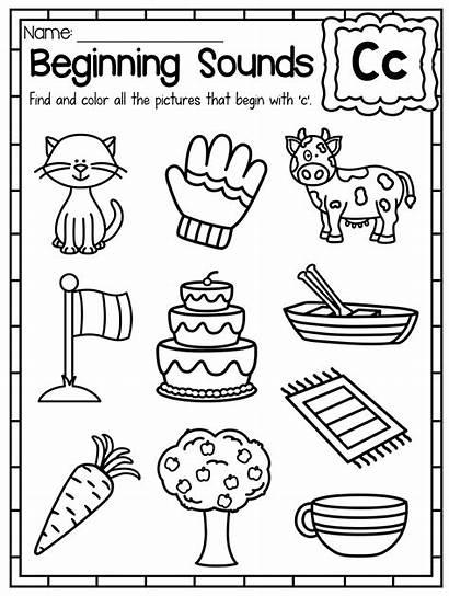 Worksheets Sound Letter Beginning Sounds Worksheet Kindergarten