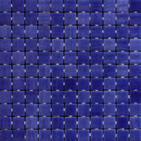 25x25mm Nieve Marino Dark Blue Spanish Dot Mounted Pool