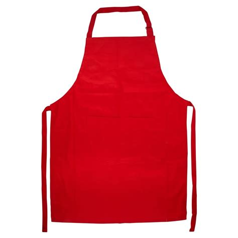 what is an apron wilko colourplay apron red at wilko com