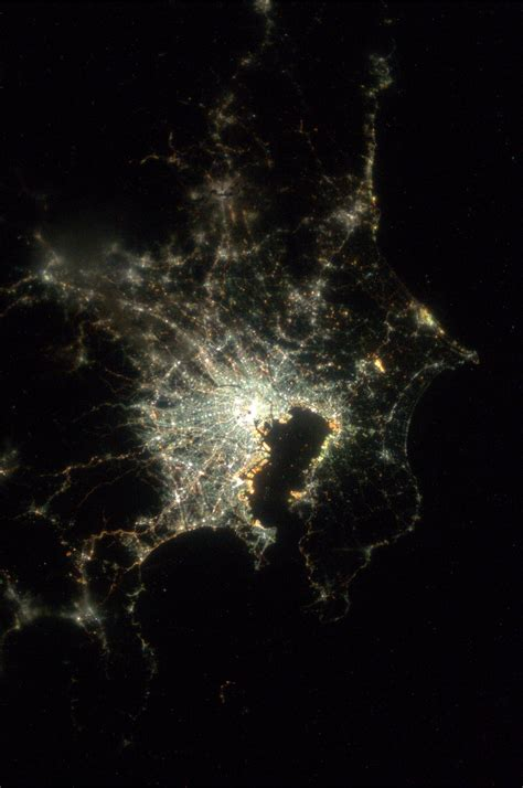 Tokyo Japan Taken August 9 2013 Kn From Space