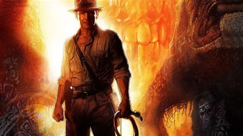 indiana jones kingdom crystal skull wallpaper