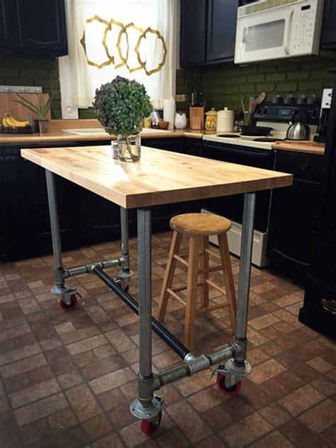 industrial kitchen islands    statement digsdigs