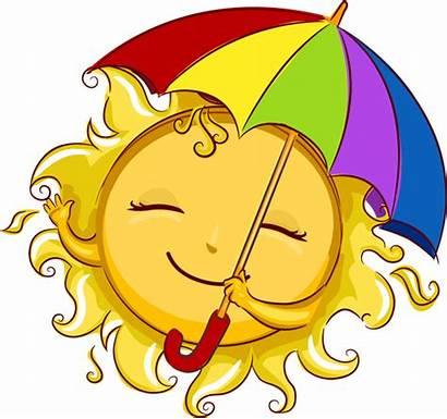 Summer Clipart Clip Sun Flowers Season Google