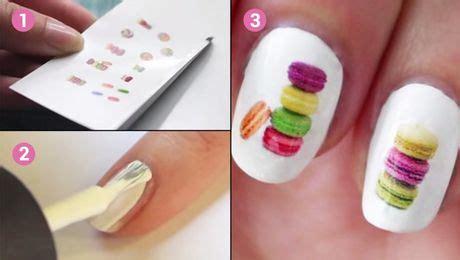plus besoin d acheter des stickers pour les ongles voici comment les faire soi m 234 me