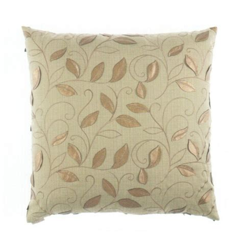 decorative pillow covers 24x24 canaan 24 quot x 24 quot atticus green leaf and vine pattern throw