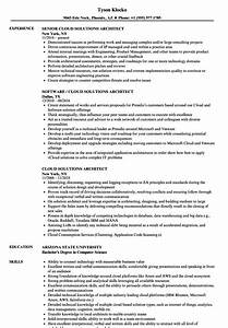cloud solutions architect resume samples velvet jobs With cloud security architect resume