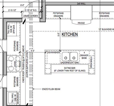 Happy Kitchen Layout Island Best Design Ideas 6603 In Plan