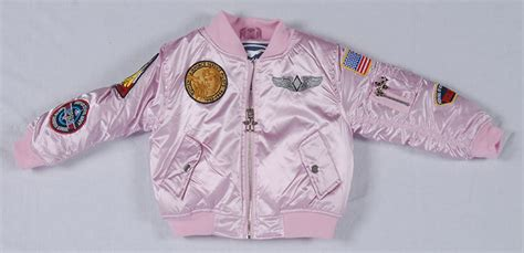 pink flight jacket air force museum