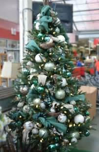 tree decorations teal decorating