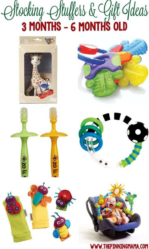 6 month christmas gifts stuffers small gifts for a baby the pinning