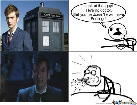 Meme Dr Who - doctor who does cry by kidnerdy meme center