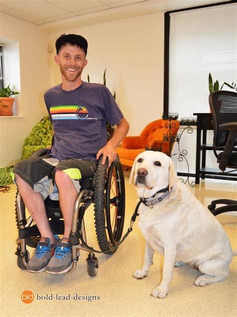 custom quad wheelchair leash   wc hook bold