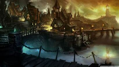 Wow Artwork Cataclysm Wallpapers Warcraft Fantasy Gilneas