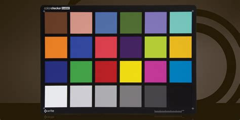 colorchecker training