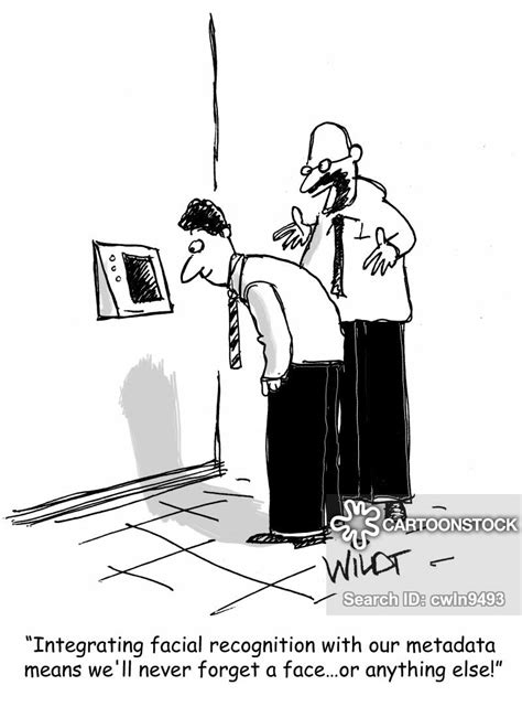 Biometrics Cartoons and Comics - funny pictures from