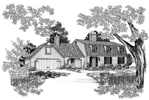 craftsman cabinets colonial style house plan 4 beds 2 5 baths 2311 sq ft 14174