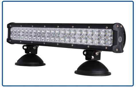 factory supply 126w led light bar car roof top light bar