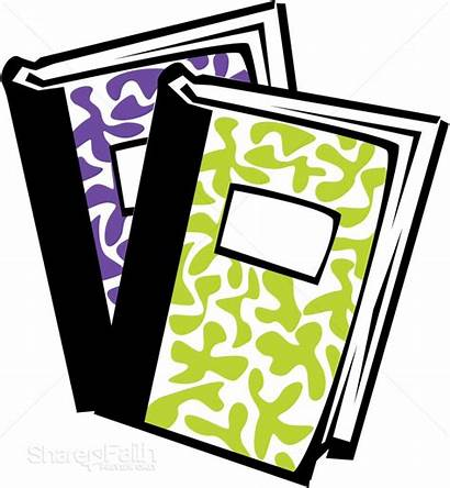 Notebooks Clipart Friendly Notebook Science Sharefaith Clipground