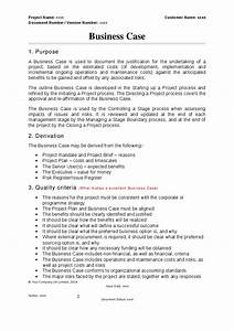 prince2 business case template hashdoc With prince2 terms of reference template