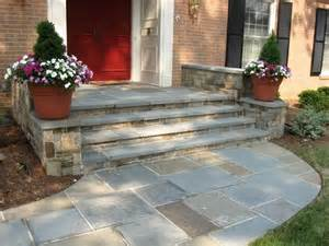 front step ideas stone walkway and front steps landscaping paving stones pinterest front steps front
