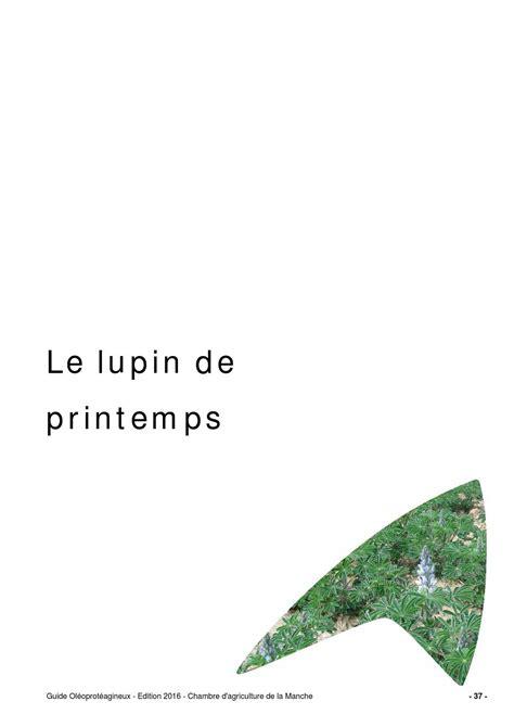 chambre d agriculture 71 guide lupin de printemps 2015 by chambre d 39 agriculture