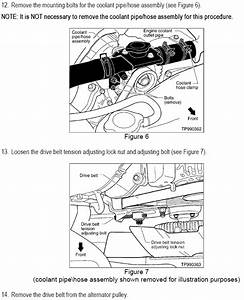 1997 Infiniti Q Alternator Instruction Manual