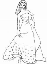 Coloring Pages Dresses Lady Barbie Colouring Printable Jasmine Sheets Princess Disney Prom Formal Luxury Figure Special Popular sketch template