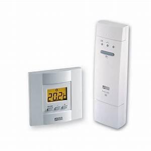 Thermostat Chaudiere Sans Fil : thermostat d 39 ambiance sans fil tybox 53 pour chauffage ou ~ Dailycaller-alerts.com Idées de Décoration