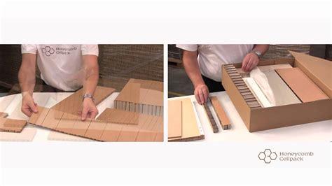 english  paper honeycomb panels youtube