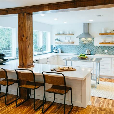 island kitchens how to add quot fixer quot style to your home kitchens