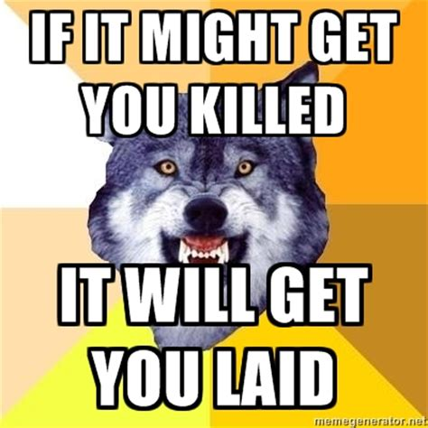 Courage Wolf Meme - image 157626 courage wolf know your meme