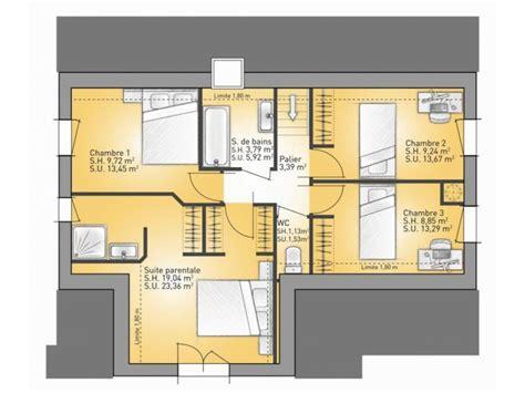 Exemple Interieur Maison Modele Maison U Mulhouse U Plans De Maison 1er étage Modèle Lumina Maison