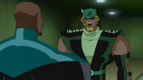 League Kumo Green green arrow recruited by the justice league