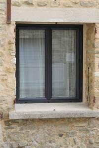 Fenetre Alu Gris : menuiseries en pvc gris fonc ral 7016 fabricant de ~ Melissatoandfro.com Idées de Décoration