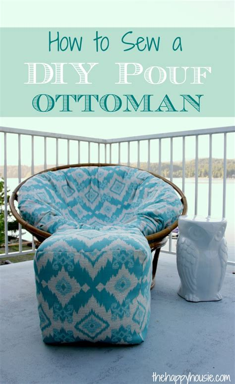Diy Pouf Ottoman by 29 Comfortable Diy Poufs And Ottomans Shelterness