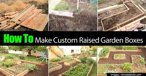 how to make a garden box allaboutdiycom planter boxes for