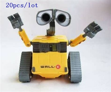 20pcs/lot Wall E Rc Robot Toy Car12cm Walle Wall.e Robot