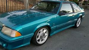 93 mustang cobra teal color - Classic Ford Mustang 19930000 for sale