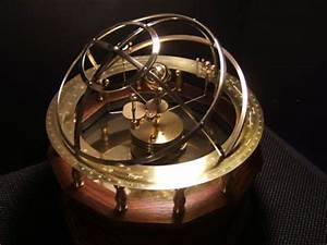 Handcrafted Grand Orrery, Clockwork Solar System Model ...
