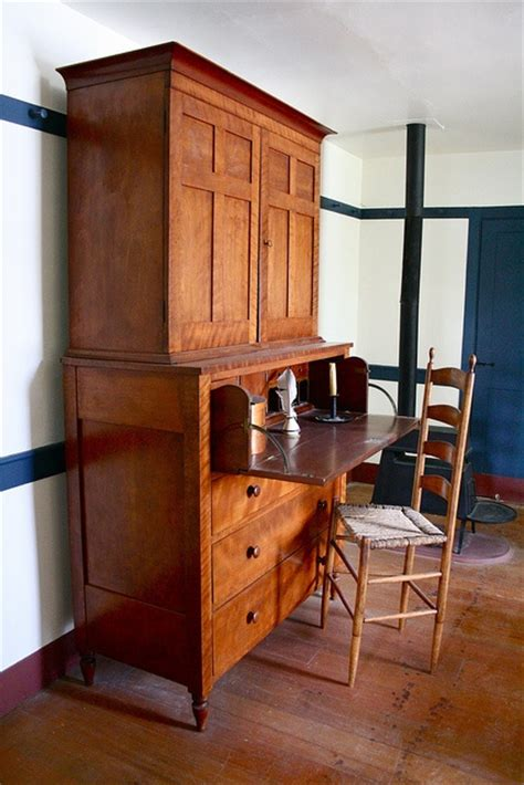 shaker secretary desk plans woodworking projects plans