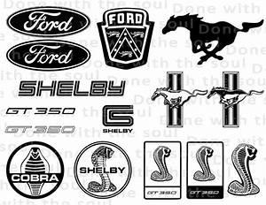 Ford logo Car logo Car emblem Cobra logo Mustang logo