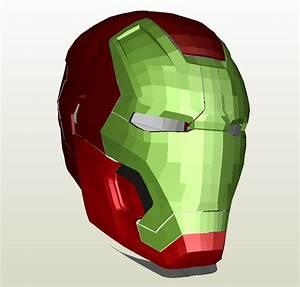 Iron Man - Mark 8 Full Armor +FOAM+ - Pepakura.eu