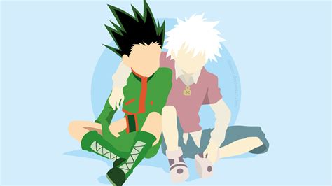 hunter  hunter gon freecss  killua zoldyck  hd anime