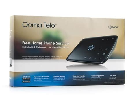 voip home phone ooma telo voip home phone system